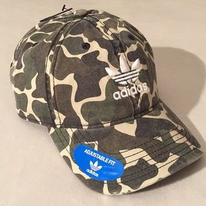 Limited Edition Adidas Originals Camo Dad Cap